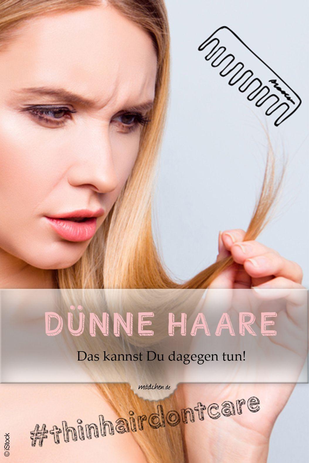 Dünne Haare: Probleme, die nur betroffene Mädels kennen
