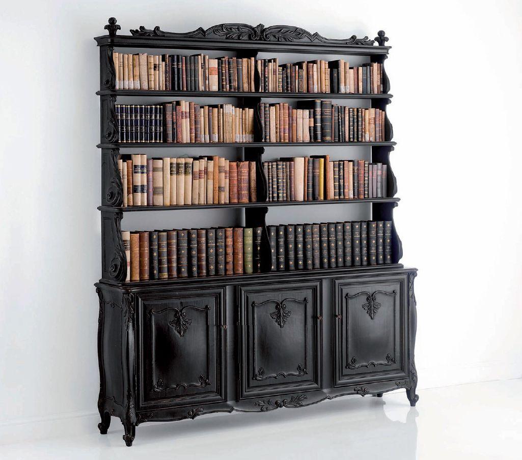 Klassische Bücherregale bookshelf by chelini bookshelf chelini eclectic