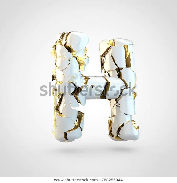 Cracked Letter H Uppercase 3d Render Stock Illustration 788255044 Stock Illustration Illustration Stock Images