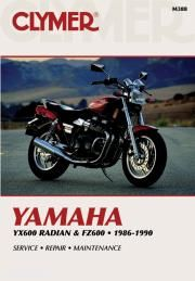 Yamaha Yx600 Radian And Fz600 1986 1990 Online Only M388 Online Manual Yamaha Repair Manuals Motorcycle