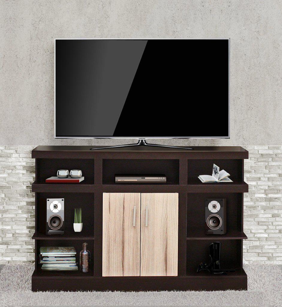 Mueble para tv de hasta 60 minimalista vigore muebles for Mueble tv minimalista