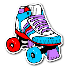 Library Of I Heart The 80s Svg Black And White Png Files Clipart Art 2019 In 2021 Skate Stickers Retro Roller Skates Roller Skates