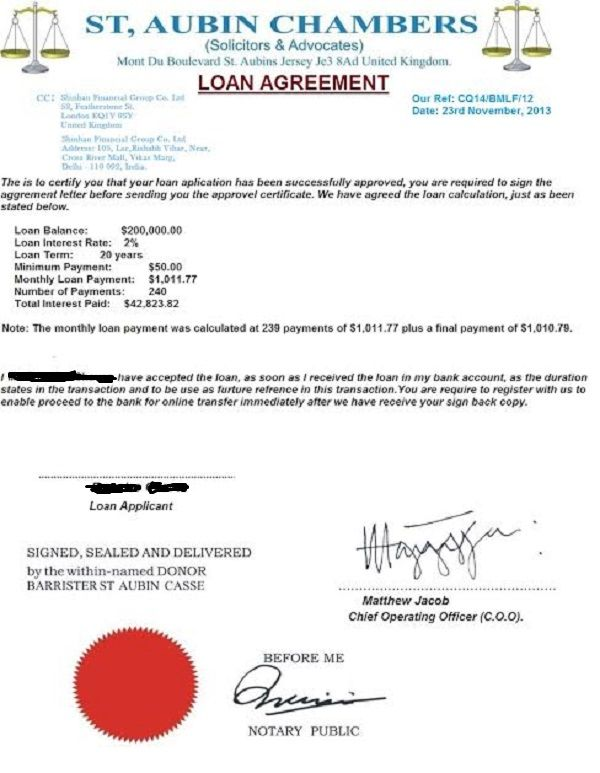 Printable Sample Loan Document Form Laywers Template Forms - sample loan agreement