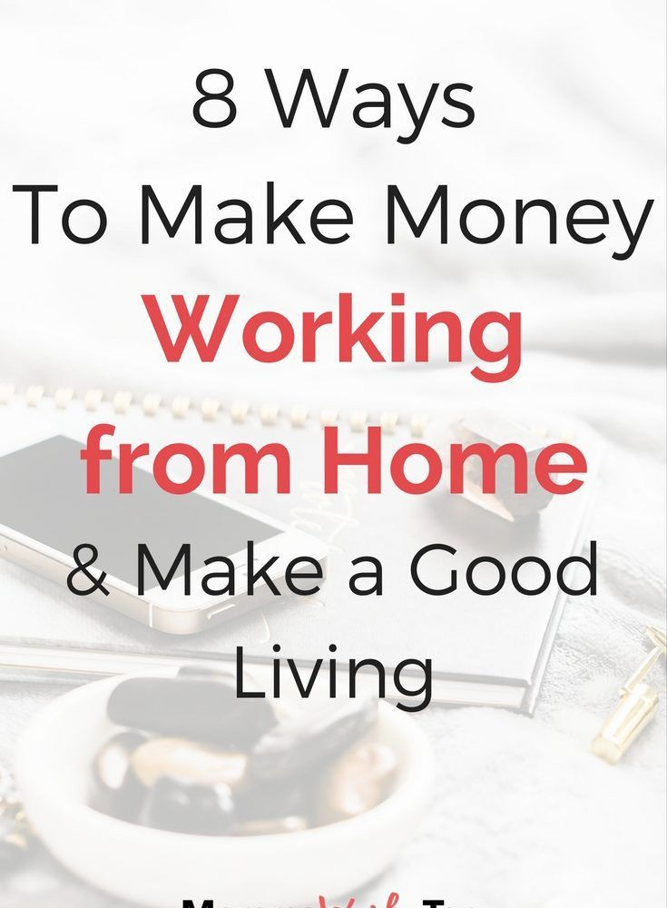 8 Ways to Make Money as a Stay-at-Home Mom • Momma Works Too $7 Can ...