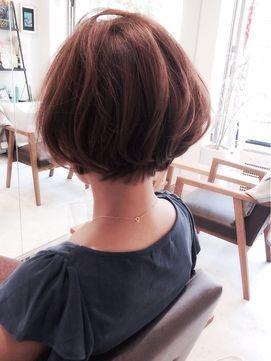 後ろ姿も美人な ショートヘア ボブカタログ 2018髪型 Shot Hair