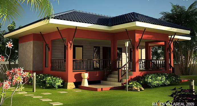 Elevated House Design 2c Houses That Are Built With Elevation 281 29 Png 692 374 Pixels One Storey House Philippines House Design Philippine Houses
