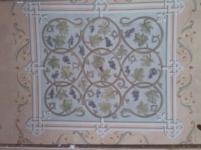 Ghirigori, Alessandra Borelli, soffitto dipinto, nuova decorazione painted ceiling