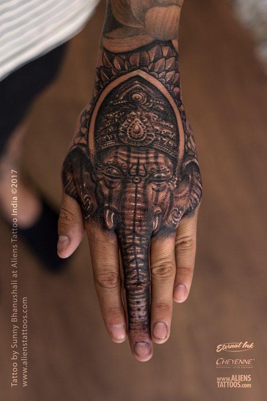 7b6c81517 Lord Ganesha Tattoo   Lord Shiva Tattoo Collection by Aliens Tattoo ...