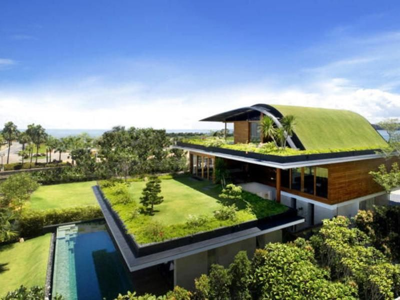 Ultra modern eco house design home design and style for Eco friendly house designs in the philippines
