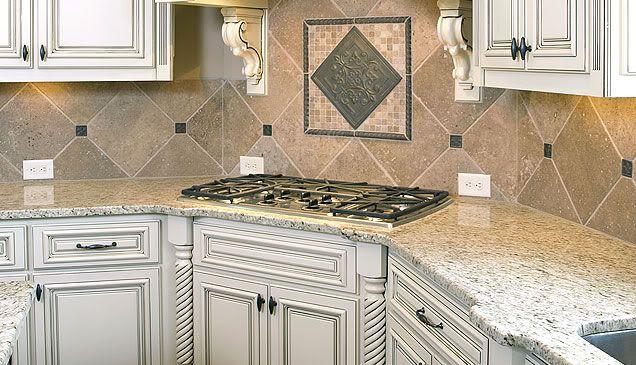 Best Giallo Ornamental Granite With Backsplash Marble 400 x 300