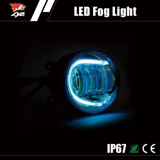 source auto spare parts car oem wholesale 30w auto led fog lamp for