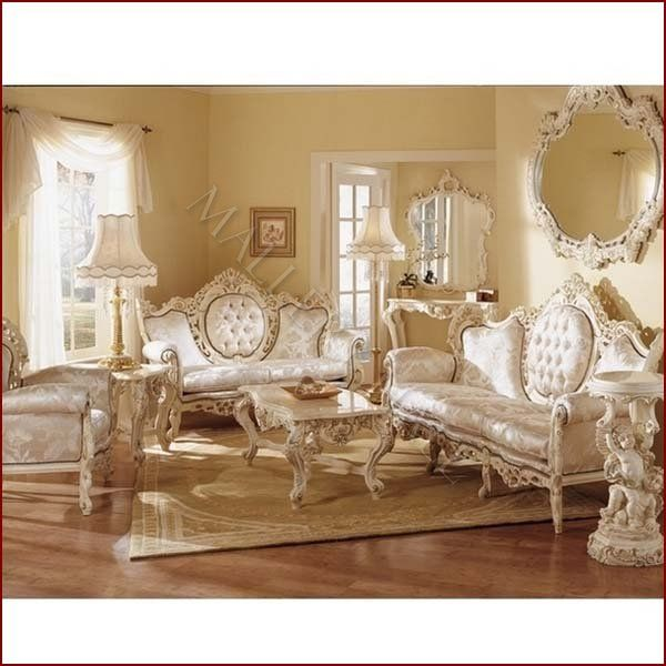 Geneva 3 pc French Provincial Formal Seating Group | Renaissance ...