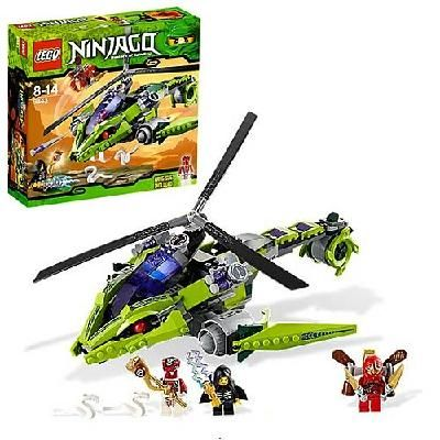 LEGO Ninjago 9443 Rattlecopter - Factory Sealed! FREE SHIPPING!