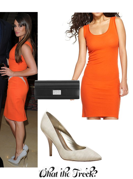What the Frock? - Affordable Fashion Tips and Trends: Under $100: Lea Michele Style