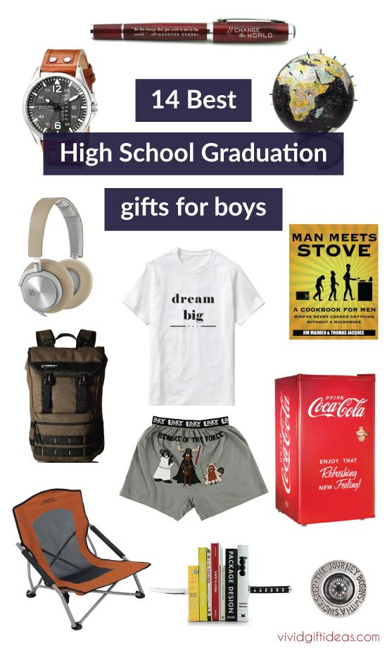 14 high school graduation gift ideas for boys pinterest graduation gifts for high school boys perfect for son boyfriend brother and friends negle Gallery