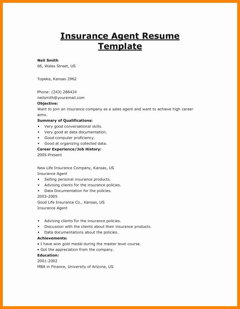 Real Estate Agent Resume Job Description Luxury 5 Insurance Agent Job Description Job Resume Samples Resume Resume Examples