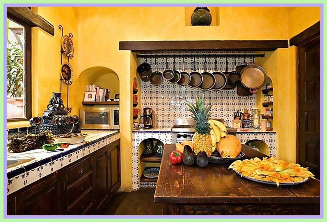 43 Reference Of Kitchen Decor Mexican Style Kitchen Decor Mexican Style Mexican Style Kitchens Mexican Kitchen Decor