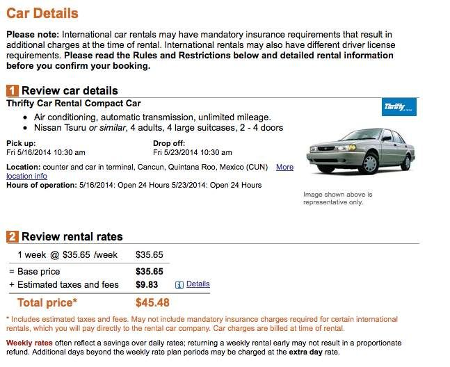 Rental car insurance rates in ireland 2
