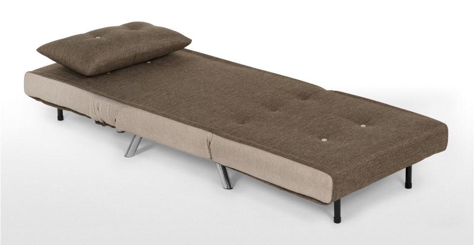 Haru Schlafsessel, Waldbraun ► Neues Design für dein Wohnzimmer! Entdecke jetzt bequeme und schicke Sessel bei MADE.