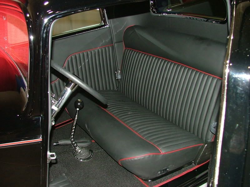 black n red tuck n roll pics the h a m b 59 pinterest 32 ford ford falcon and ford. Black Bedroom Furniture Sets. Home Design Ideas