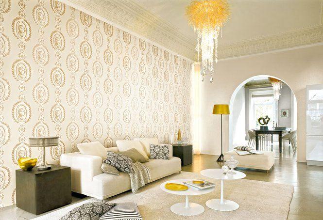 Hell muss nicht einfach nur Weiß sein Schöne Tapeten Pinterest - tapete küche modern