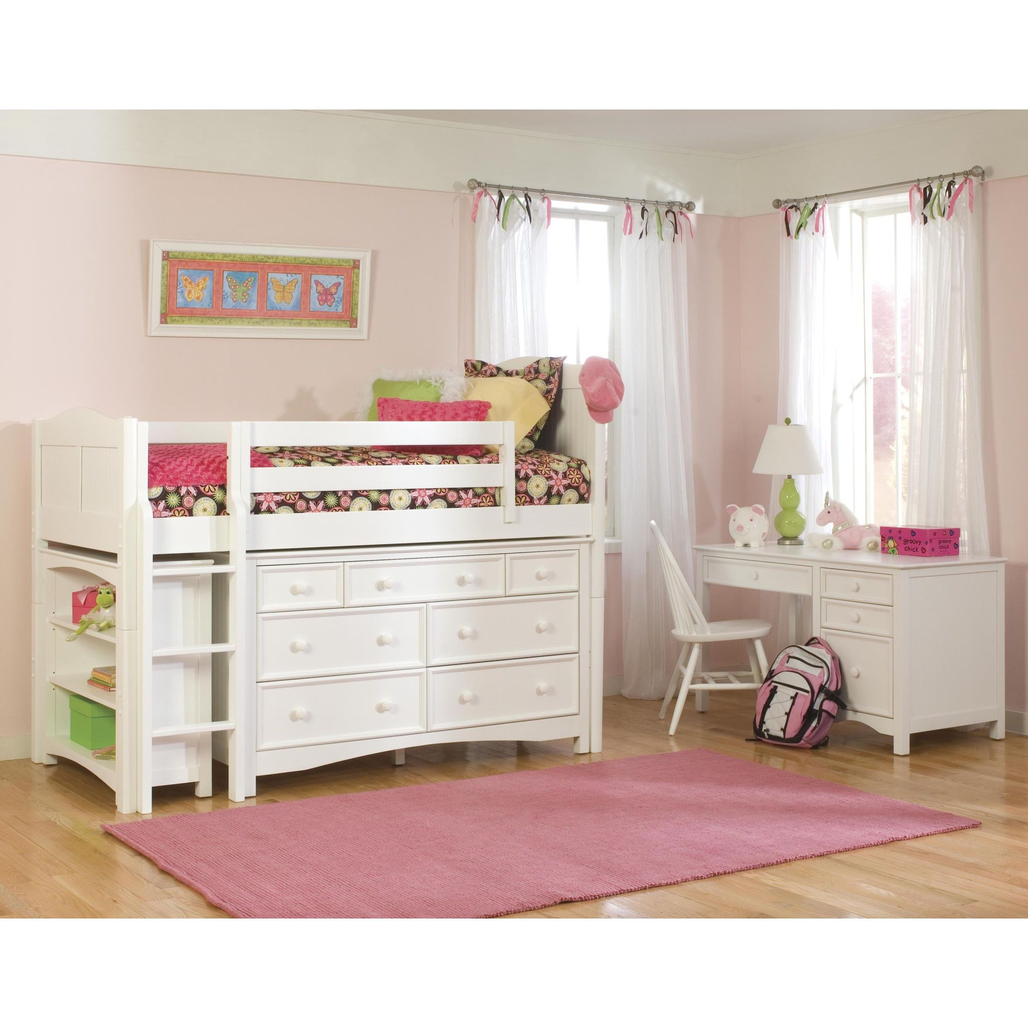 Loft bedroom storage ideas  This would be awesome for a kids bedroom Would save soooo much