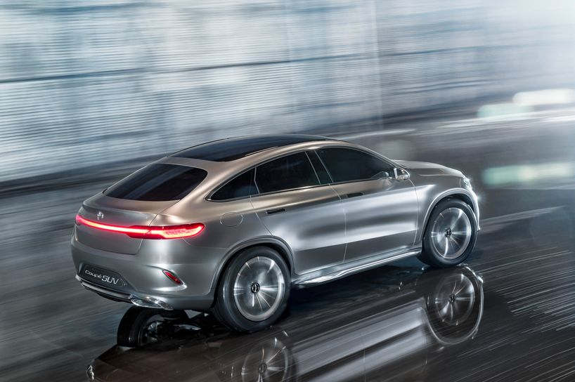 Mercedes Benz Concept Coupe An All Wheel Drive Compact Suv