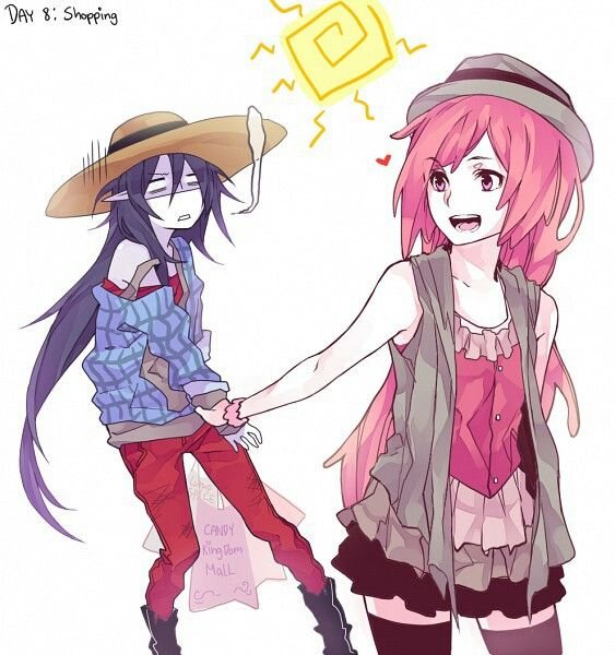 Marceline And PB Shopping