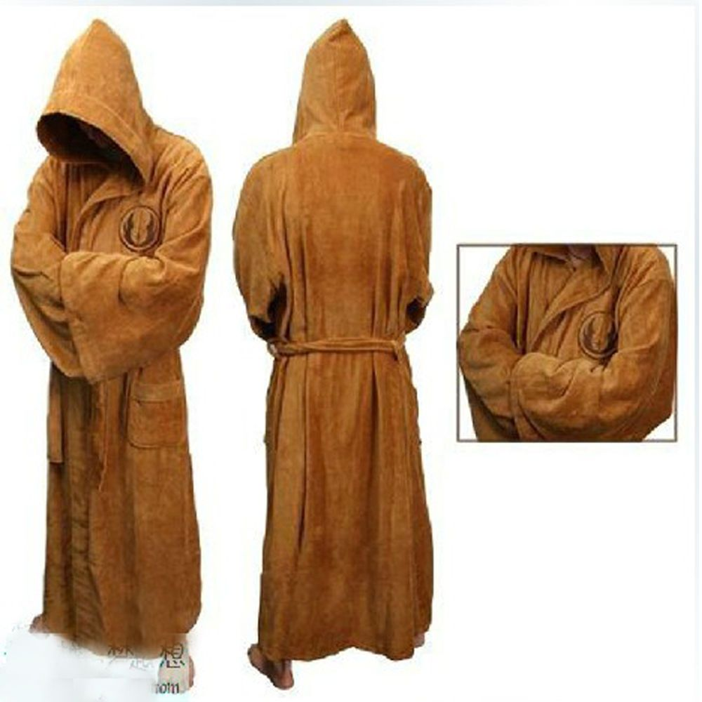 New Star Wars Jedi Dressing Gown - May the fleece be with you!! | I ...