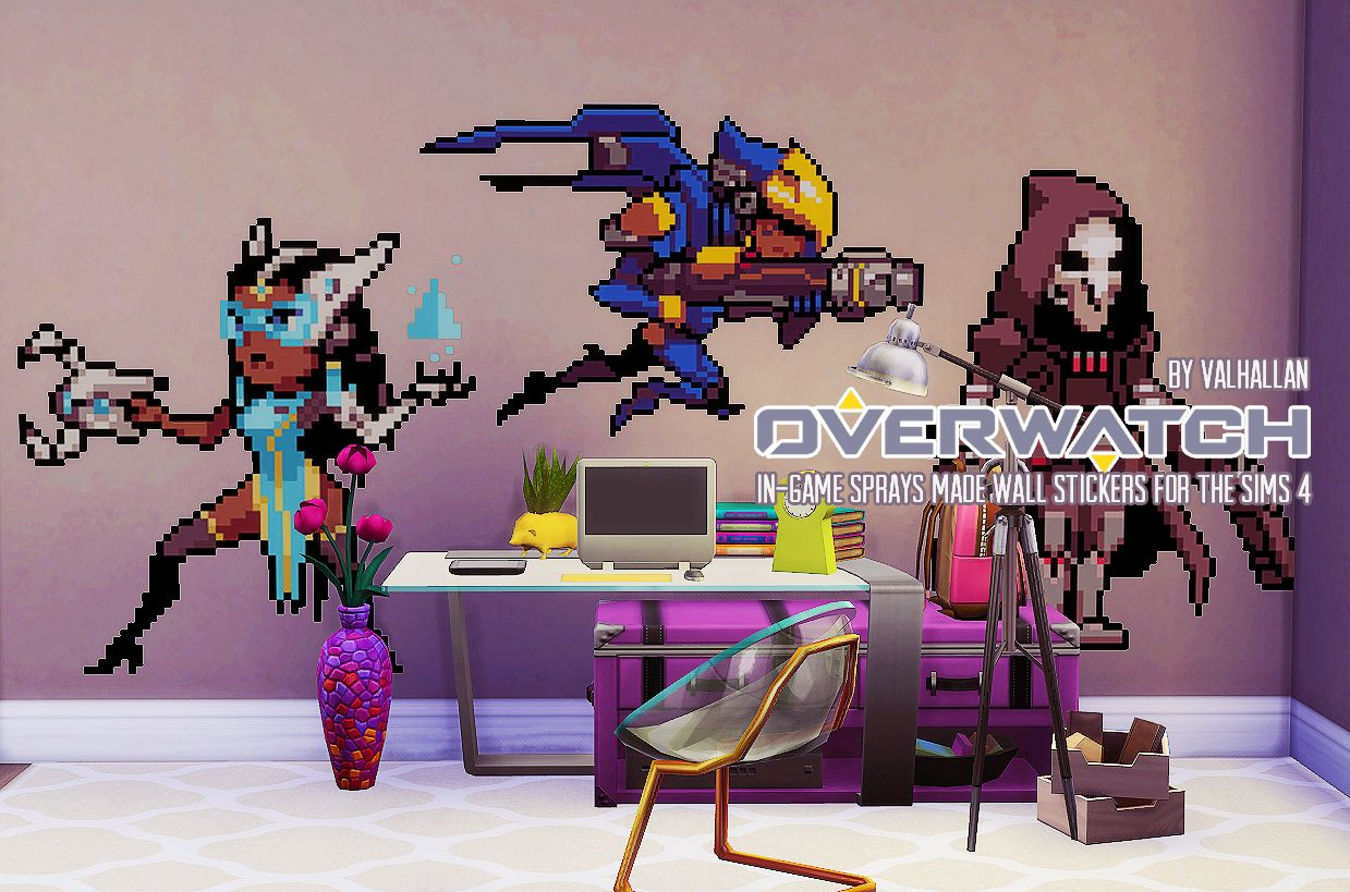 Lana cc finds valhallansim overwatch sprays converted into