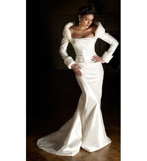 100 wunderschöne Winter Brautkleider, die Sie lieben werden   – All white favorites