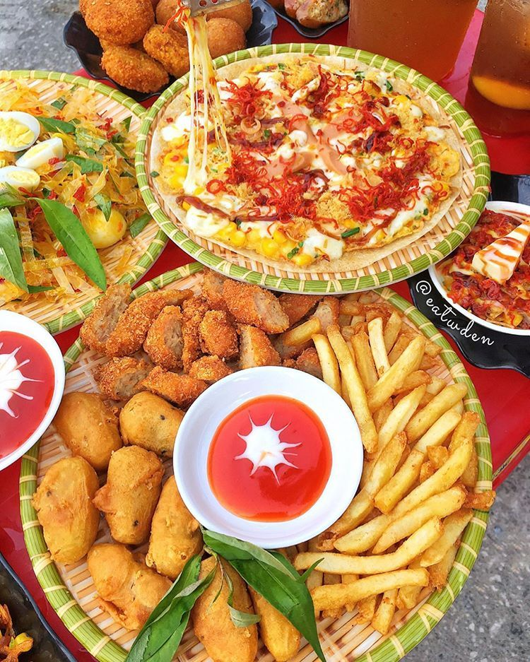 """ĂN VẶT HẢI PHÒNG 🤤 trên Instagram: """"[ 🍔🔆 """"ĐẠI NÁO"""" ĐỊA ĐIỂM ĂN VẶT VỈA  HÈ TOÀN MÓN NGON TRÊN PHỐ LẠCH TRAY 💯?…   Ẩm thực, Thức ăn, Tiệc trà"""