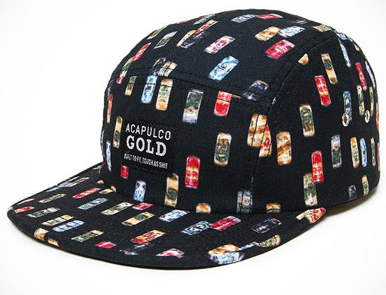 06b10a91d8f Discover ideas about Snapback. ACAPULCO GOLD s Beer Can 5 Panel cap ...