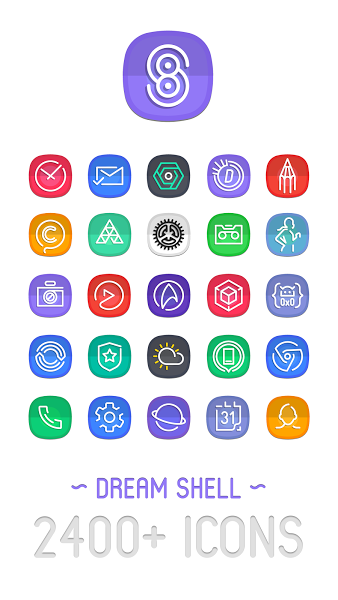 Dream Shell ~ S8/Note8 Icon Pack v2 2 0 i a t [Patched]Requirements