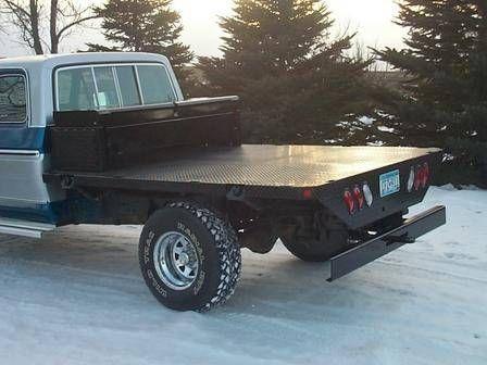 Custom Built Truck Flatbeds