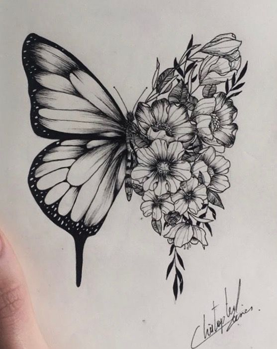 Step outside summertimes in bloom   Step outside summertimes in bloom   #blo Drawing blo bloom butterfly Drawing Step summertimes