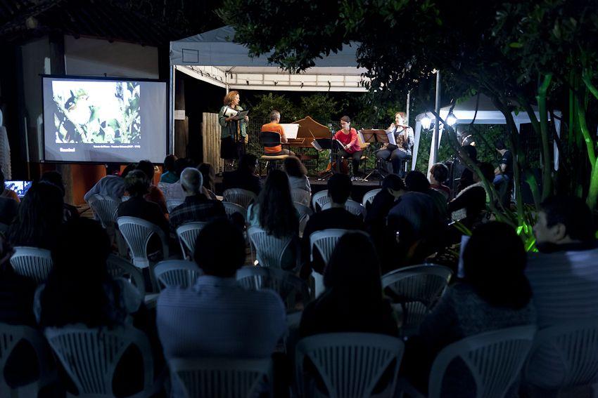 Projeto Música e Natureza em Rio das Ostras, realizado no Parque dos Pássaros, em comemoração a Semana do Meio Ambiente 2012.