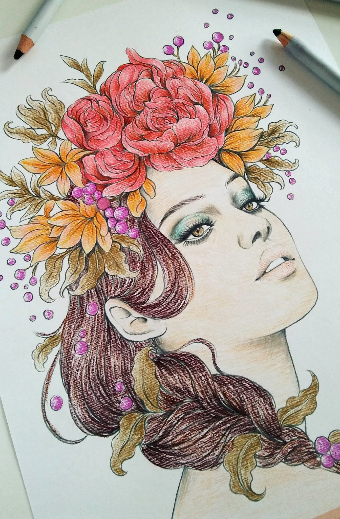 Watercolor Pencil Coloring Books Best Of Prima Marketing Watercolor Pencils And Beauti Colored Pencil Coloring Book Art Painting Supplies Flower Coloring Pages