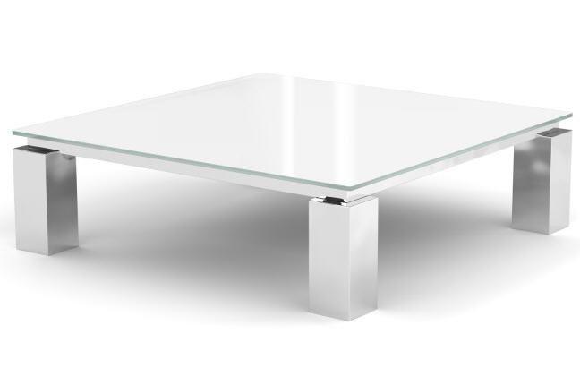 Table Basse De Salon Glassy En Verre Teinté Table Basse Mobilier