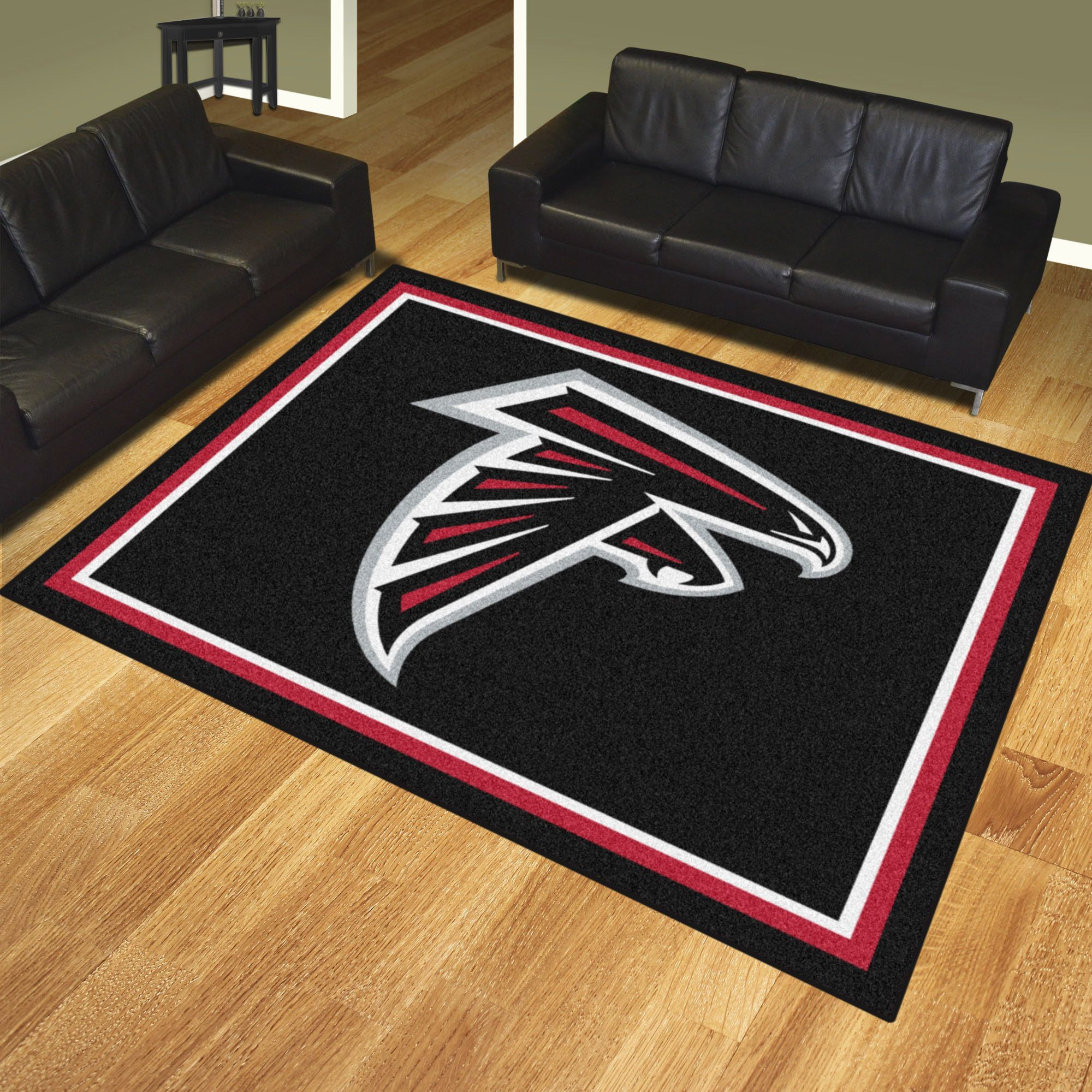 Nfl Atlanta Falcons 8x10 Rug Show Your Team Pride And Add Style To