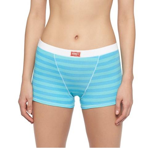 Hanes Cotton Stretch Women s Boyfriend Boxer Brief 2-Pack ( 9.99) I Boxers  or Briefs  18 Pairs of Mens-Inspired Underwear for Women ffc9de01ea