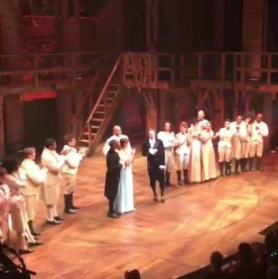 Lin, Leslie, Pippa, & Ari's final curtain call at... - Daily Daveed Diggs