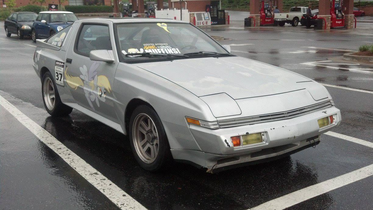 Derpy   Drifting is Magic    Mitsubishi Starion Chrysler Conquest     Derpy   Drifting is Magic    Mitsubishi Starion Chrysler Conquest