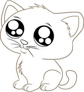 Ein Kaetzchen Zeichnen Dekoking Com 2 Katze Zeichnen Tiere