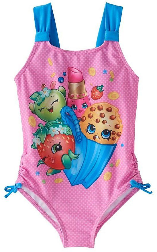 ef445aeeffa57 Pin by Erin Popich on Party's   Shopkins girls, Swimwear, Girls ...