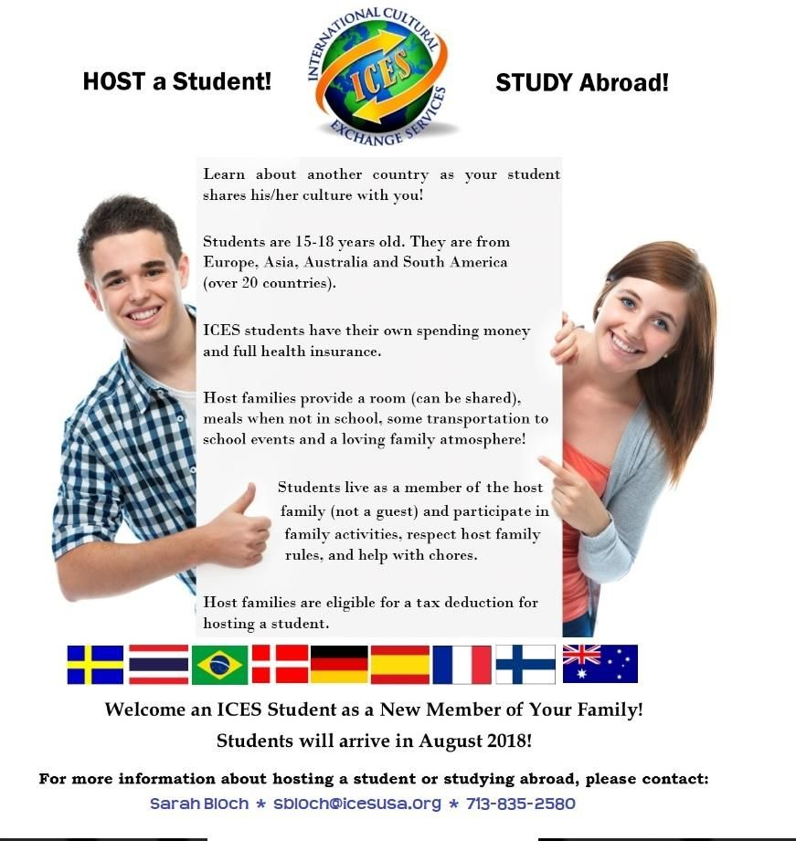 Foreign Exchange Students From Europe Asia Latin America
