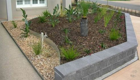 metal retaining walls metal garden bed edging from formboss - Garden Edging