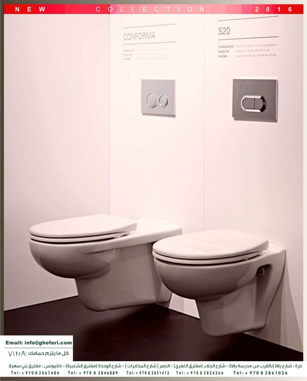 تصميم غير عادي من المراحيض لشركة فيترا المميزات سطح مضاد للجراثيم والبكتيريا سهل التنظيف حيث لا تمتص المواد الكيمي Instagram Posts Toilet Bathroom