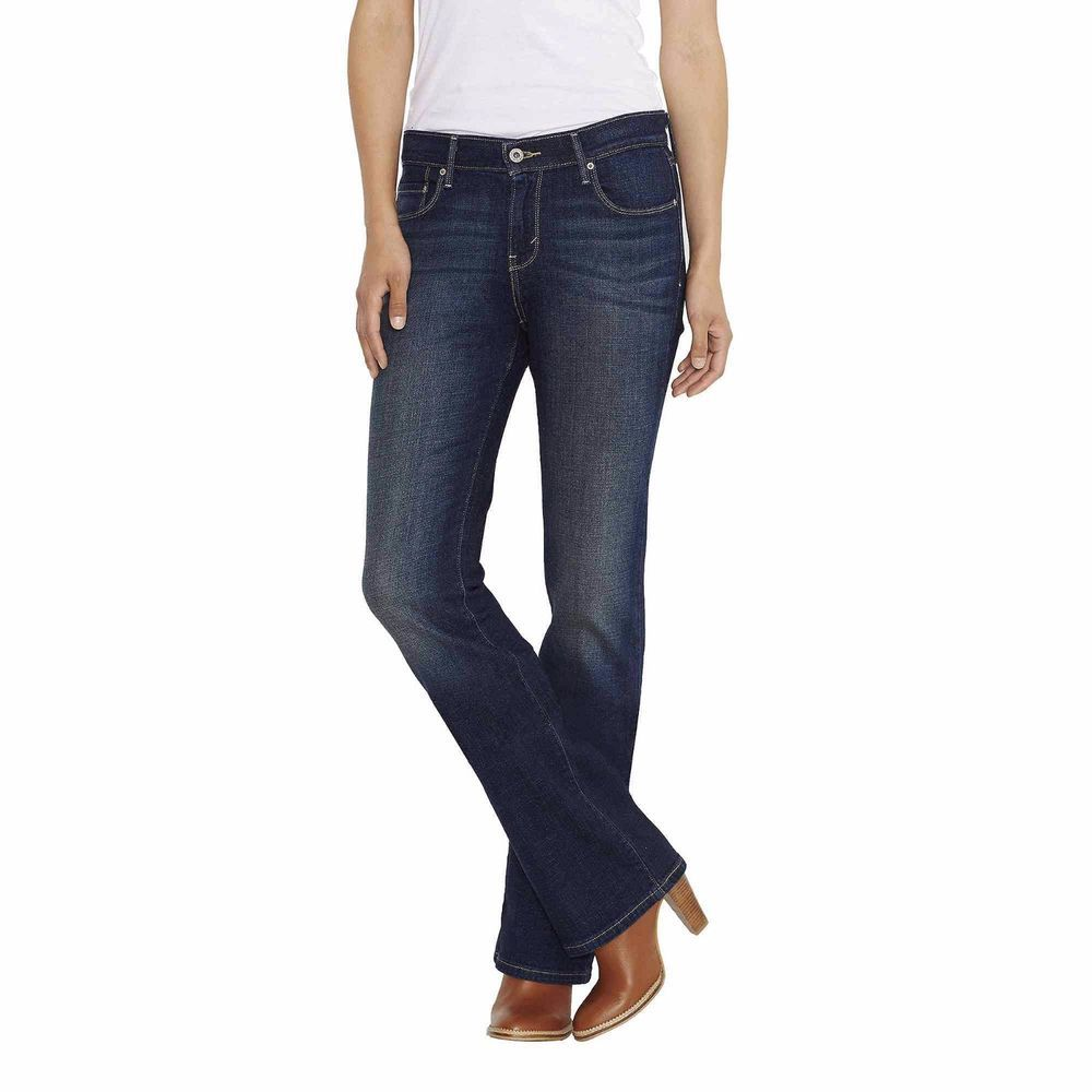 Levi mid rise bootcut jeans