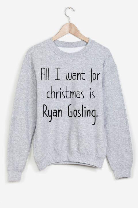 Rad | All I Want Sweater - XMAS
